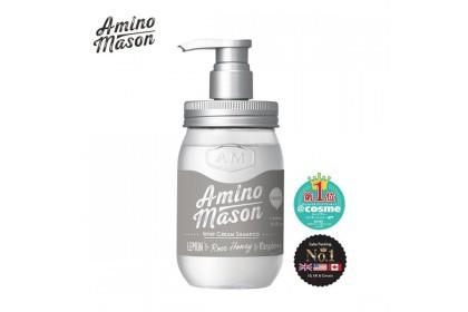 Amino Mason Smooth Whip Cream Shampoo/Fruit Cream Treatment 2019 Version (450ml)
